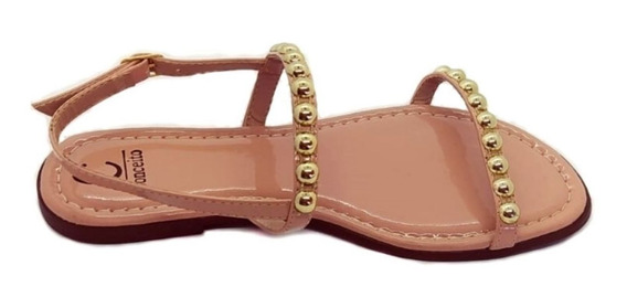Sandálias Rasteirinhas Casual Adulto Fashion Feminina 2020