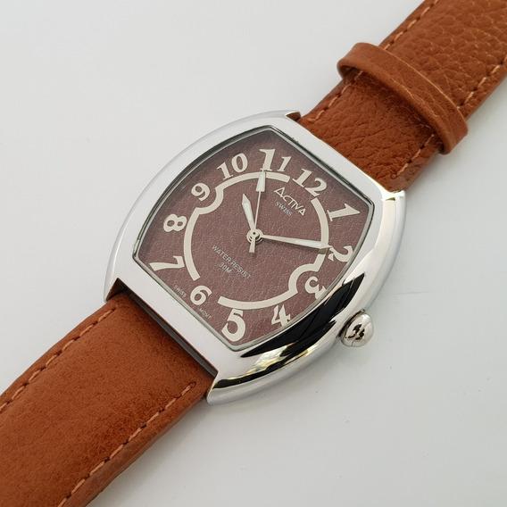 Relógio Feminino Activa Brown Swiss Movement
