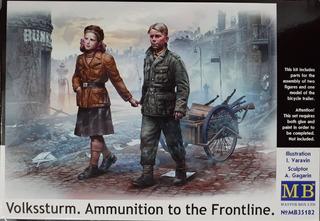 Masterbox 1/35 35182 Volkssturm. Ammunition To The Frontline