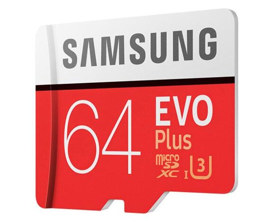 Cartão Samsung Micro Sdxc Evo Plus+ 64gb 100mb/s + Adaptador