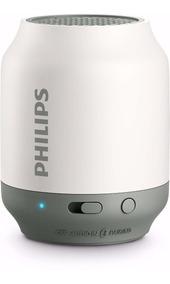 Caixa 2w Bluetooth Philips Bt50wx/78 Bt50wx Bt50 - Branca