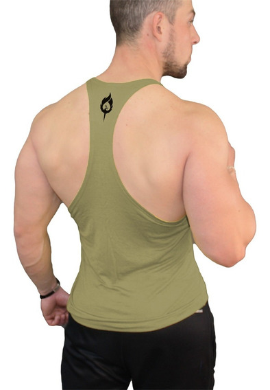 Camiseta O Playera /tank Top Corte Olímpica Colores Fenixfit