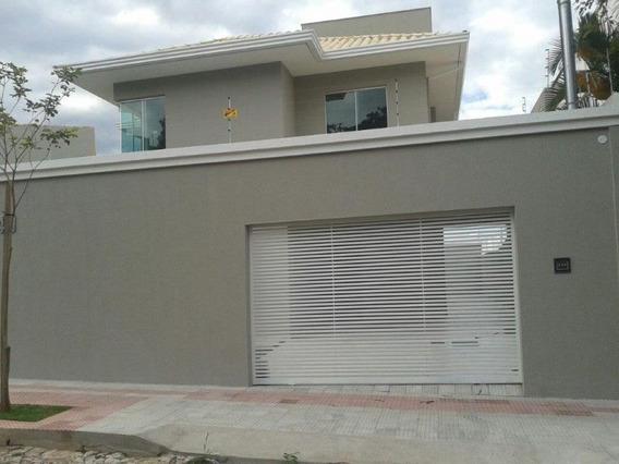 Vendo Casa De Luxo Em Belo Horizonte De 04 Quartos. - Crd888