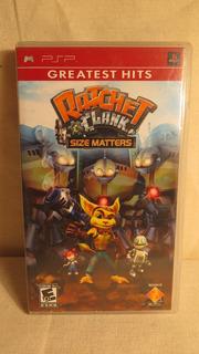Ratchet & Clank Size Matters Para Psp