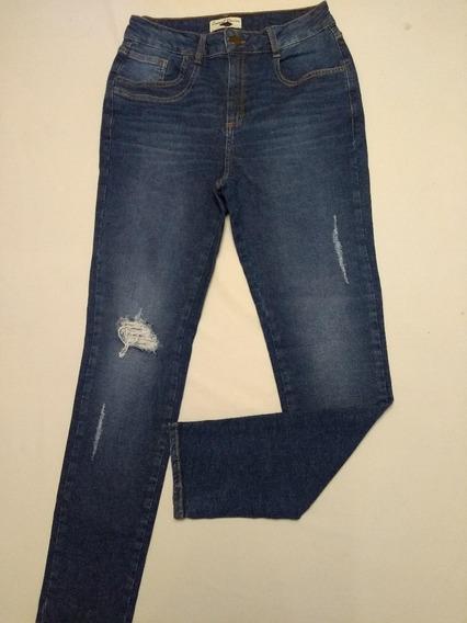 Calça Jeans Feminina Puídos Diversas Cores E Modelos Rf.d45!