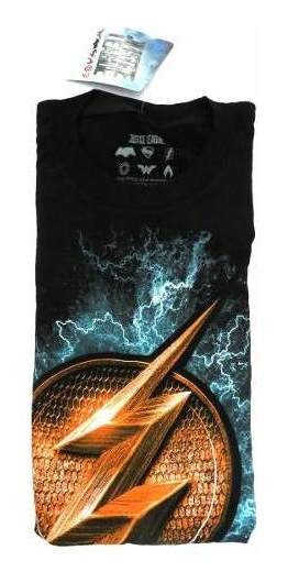 Camisa Masculina Super Heróis The Flash Original