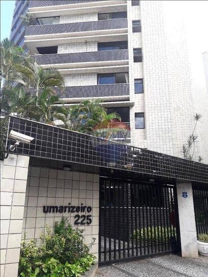 Apartamento Com 4 Dormitórios Para Alugar, 191 M² Por R$ 3.000,00/mês - Tamarineira - Recife/pe - Ap1219