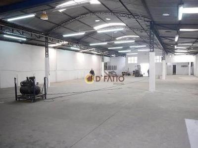Galpão Comercial Para Venda E Locação, Cidade Ariston Estela Azevedo, Carapicuíba - Ga0009. - Ga0009