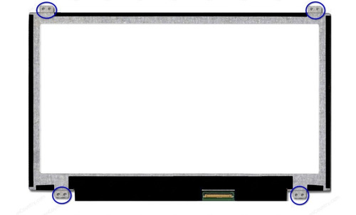 Pantalla Led Slim  Mini Acer Samsumg 11.6 Ganchos Frontales