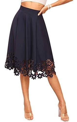 Wdirara Faldas De Mujer Vintage, Plisadas Con Flores, Acampa