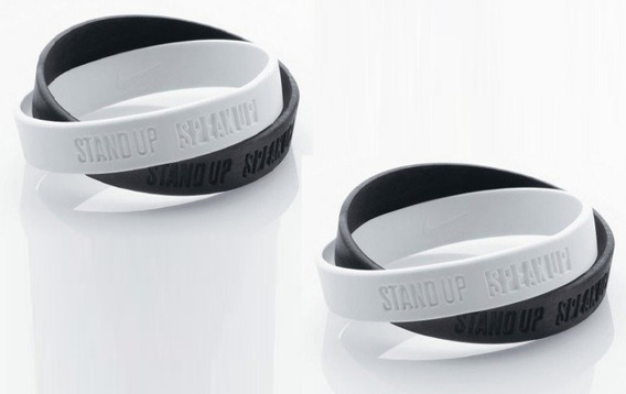 Kit 03 Pulseiras Nike Campanha
