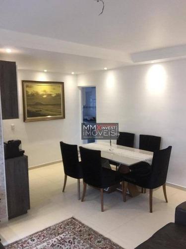 Apartamento Com 3 Dormitórios À Venda, 65 M² Por R$ 380.000,00 - Vila Santos - São Paulo/sp - Ap0982