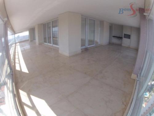 Imagem 1 de 30 de Apartamento Com 4 Dormitórios À Venda, 394 M² Por R$ 4.000.000,00 - Jardim Anália Franco - São Paulo/sp - Ap0918