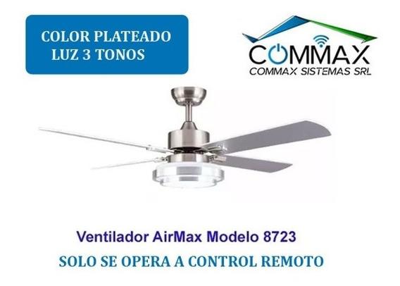 Ventilador Techo Luz Led 18w Control Remoto Mod 8723 Timer