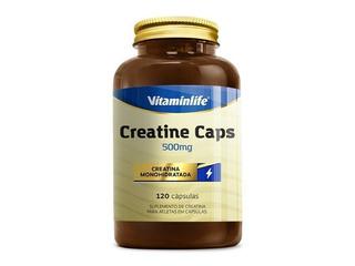 Creatine Caps (500mg) 120 Cápsulas