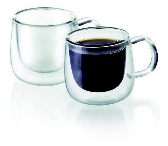 Dupla De Xicaras Para Cafe Parede Dupla 100ml Tcj19157 Mimo Style 6678