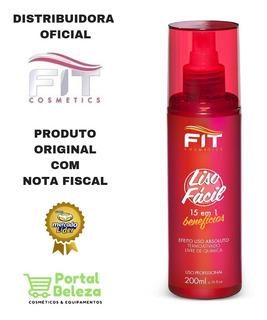 Spray Alisamento Termoativado Liso Fácil 200ml Fit Cosmetics