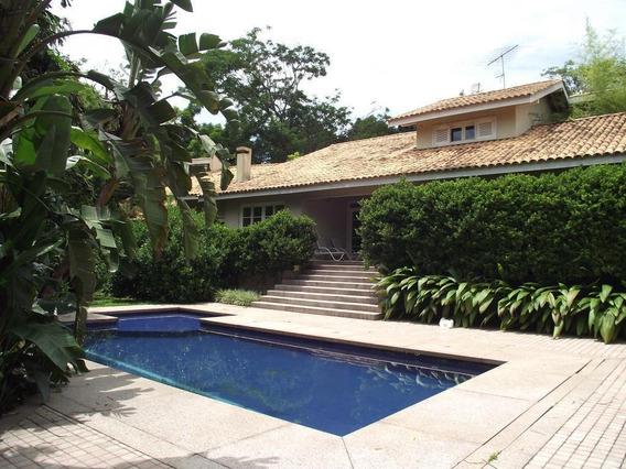 Mansão Com 4 Dormitórios À Venda, 560 M² Por R$ 2.700.000 - Villa Vianna - Cotia/sp - Ca4214