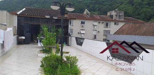 Casa 6 Dormitórios Sendo  3 Suítes No Marapé Em Santos - 4002