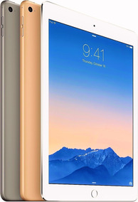 iPad Air 2 16gb Wi-fi 4g Tela Retina 9.7 Gold + Case Brinde