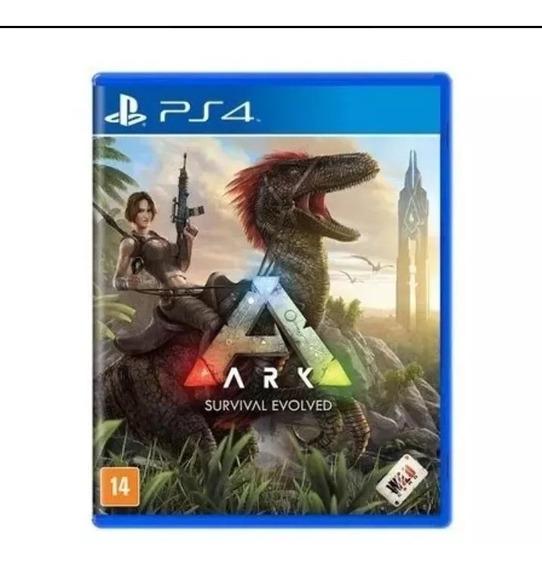 Ark Survival Evolved Ps4 Midia Fisica Original Lacrado Nacional Rj