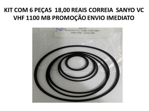 Kit Correia Sanyo Vhr 110 Mb /1600 Mb/1650 Md Envio Imediato