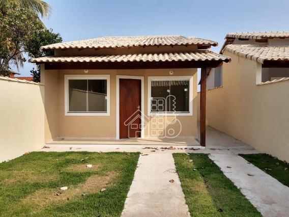 Casa Com 2 Dormitórios À Venda, 70 M² Por R$ 260.000,00 - Itaipuaçu - Maricá/rj - Ca1180