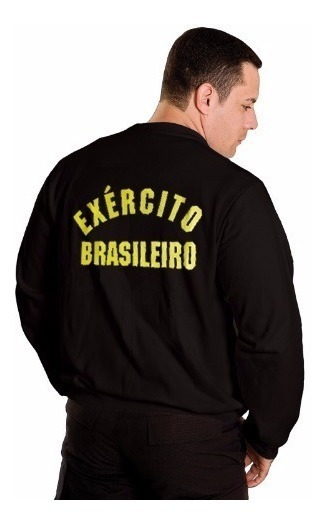 Casaco Moletom Exército Brasileiro