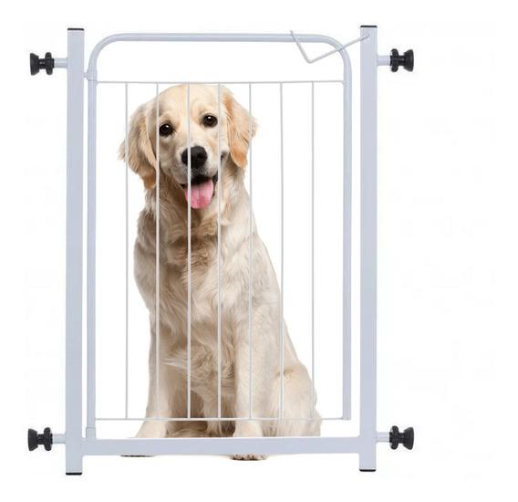 Grade Portão Proteção Criança Bebe Cão + Extensor 10cm
