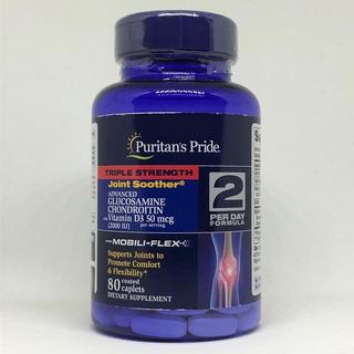 Glucosamina Msm Chondroitina Vitamina D3-80 Cps P. Entrega D