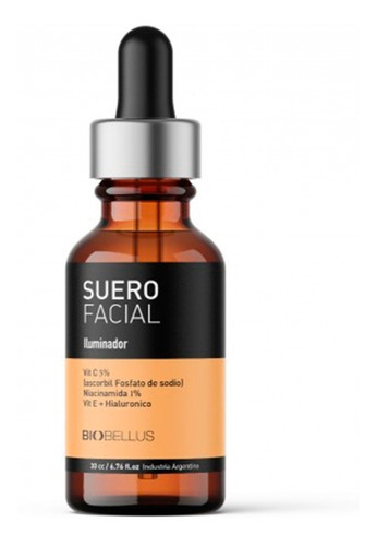 Suero Facial Niacinamida Biobellus Iluminador Vitamina C X30