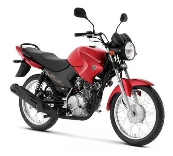 Tanque Combustível Yamaha Factor 125 Vermelho