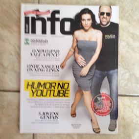 Revista Exame Info 315 Abr/2012 Humor No Youtube Cléo Pires
