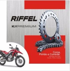 Relação Xre 300 Kit Transmissão Riffel Honda 09 A 17 70905