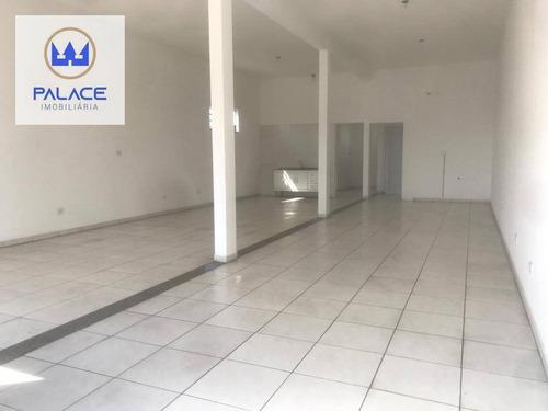 Imagem 1 de 9 de Salão Para Alugar, 106 M² Por R$ 2.000,00/mês - Parque Residencial Monte Rey Ii - Piracicaba/sp - Sl0153