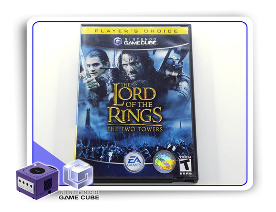 The Lord Of The Rings Two Towers Nintendo Original Gamecube
