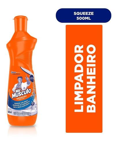 Limpador Mr. Músculo Banheiro Squeeze 500 Ml