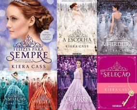 Coleção A Seleção - 7 Livros - Kiera Cass