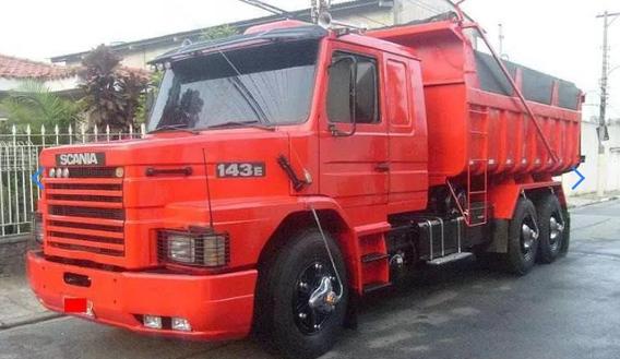 Scania 142 Ew Motor 113 Traçado Caçamba Basculante