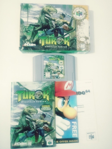 Jogo Turok Dinosaur Hunter (nintendo 64)