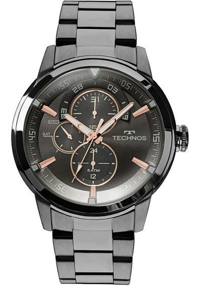 Relógio Technos Masculino Grandtech 6p57ab/4p