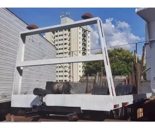 Plataforma Guincho 5,50m Completa Redutor