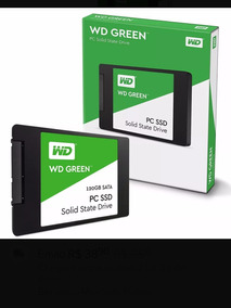 Ssd 120gb Solid State Drive) Wd Green Wds240g1g0a