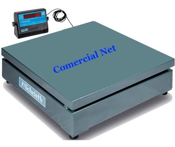 Balança 500kg Eletromecânica Digital 80x80 Garantia Inmetro