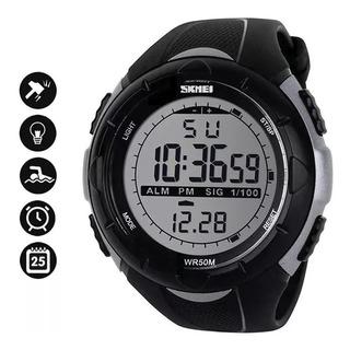 Reloj Skmei 1025 Hombre Mujer Crono Sumergible Deportivo