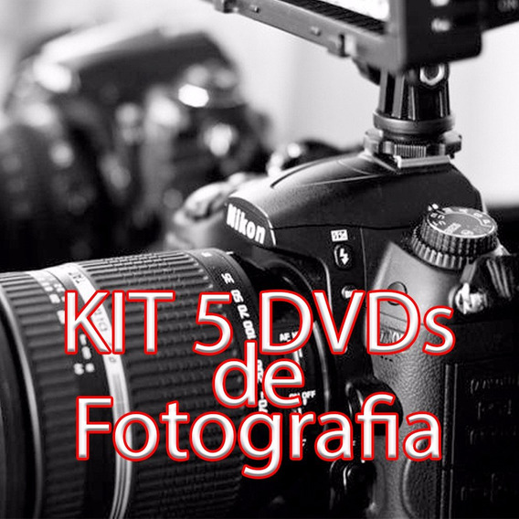 Kit 5 Dvds De Fotografia - Boudoir, Nu E Sensual