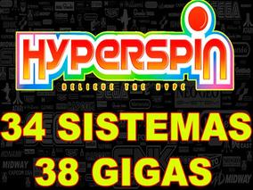 Hyperspin 34 Sistemas Com 38 Gigas