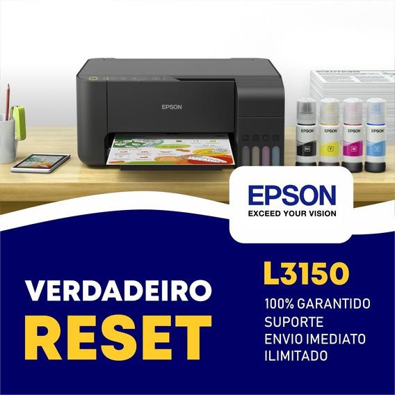 Reset Epson L3150 - Verdadeiro Reset Epson