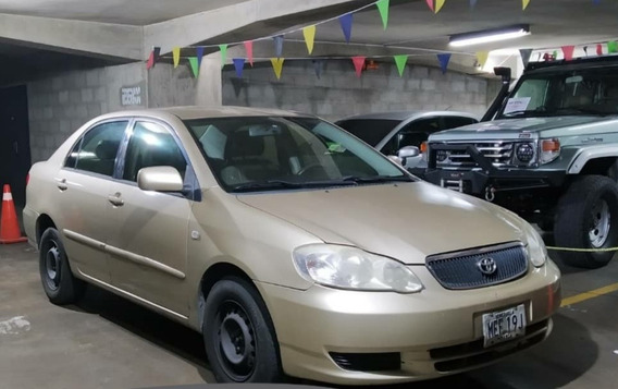 Corolla New Sensation 2005 Color Dorado