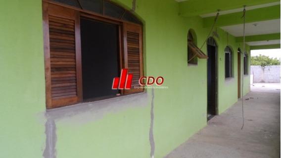 Casa Térrea 1 Dorm, Sala, Coz, Banh, Terreno Com 375m2 - 410-vr